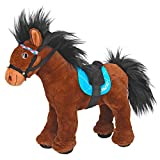 Miss Melody 8727 – Caballo de Peluche, Multicolor