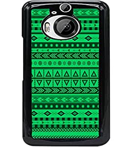 ColourCraft Tribal Pattern Design Back Case Cover for HTC ONE M9 PLUS
