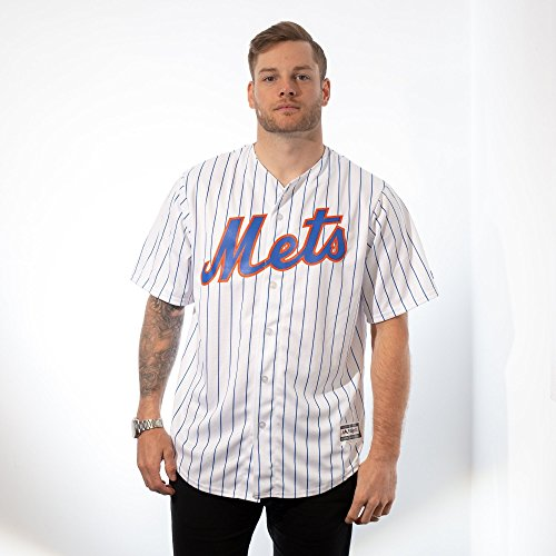 Majestic New York Mets Cool Base MLB Trikot Home L