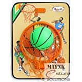 Basket ball kit for kids play playing indoor outdoor hanging board with ball