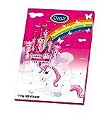 Unicorno Calendario dell´avvento con cioccolato al latte 75g