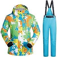 Hombres/Mujeres Chaqueta de esquí Pantalones Impermeable Caliente Espesado