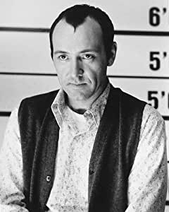 Kevin Spacey de Roger 'Verbal' Kint in The Usual Suspects 25x20cm Photographie en noir et blanc