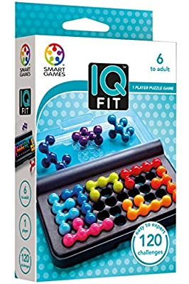 Smart 51597 - IQ Fit, juego de ingenio con retos de GIRO
