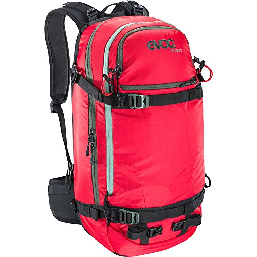 EVOC Herren Fr Guide Protektor Rucksack, Red, 56 x 27 x 22 cm, 30 Liter
