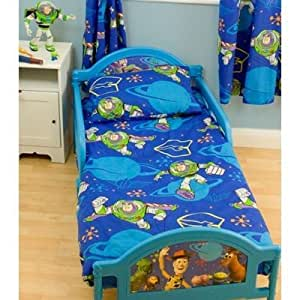 Childrens/Kids Boys Toy Story Junior Bed Quilt/Duvet Cover ...