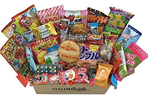 40 dulces japoneses y merienda con POPIN COOKIN , kitkat japonés y otro dulce popular