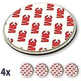 Nemaxx 4x NX1 Quickfix Magnet Set Befestigung Magnetbefestigung für Rauchmelder / Funkrauchmelder / Rauchwarnmelder / Rauchmelderbefestigung