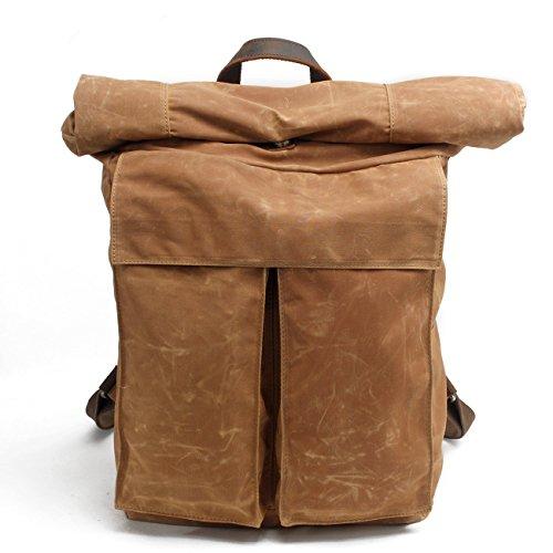 Neue, Retro, die Schule, Tasche wasserdicht Canvas Handtasche Persönlichkeit, Mode, Reise, Rucksack, Tasche, B0078 (Canvas Burberry Handtasche)