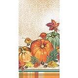 Creative Converting 332033case Traditionelle Thanksgiving Dinnerservietten, Einheitsgröße, mehrfarbig