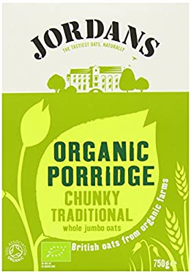 Jordans Organic Porridge Oats 750 g (Pack of 6)