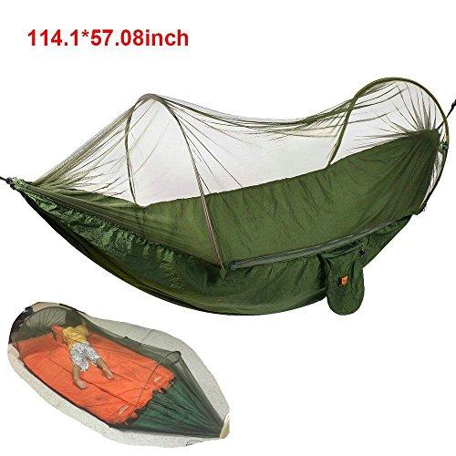 Hamaca camping con mosquitera | Over 440LB (290x145cm)