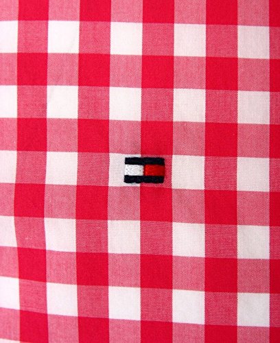 Tommy Hilfiger Custom-Fit Chemises Rouge
