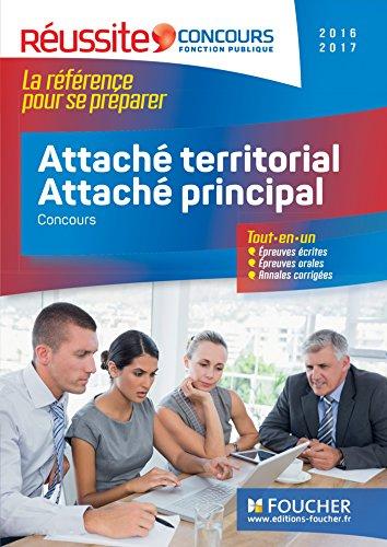 Concours Attaché territorial, Attaché principal 2016-2017 - Tout-en-un - Réussite Concours Nº31
