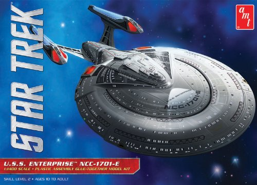 AMT AMT853 - 1/1400 Star Trek USS Enterprise NCC-1701E