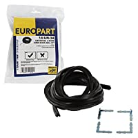 Europart Universal Retail Packed 4-Sided Silicone Rubber Oven Door Gasket Seal Kit