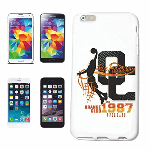 Handyhülle iPhone 7S SAN FRANCISCO ORANGE CLUB SUPERIOR TEAMWORK USA AMERIKA LOS ANGELES CALIFORNIA BROOKLYN NEW YORK CITY MANHATTAN RUGBY BASEBALL FOOTBALL FUßBALL Hardcase Schutzhülle Handycover Sm