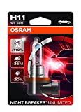 OSRAM NIGHT BREAKER UNLIMITED H11, halogen-headlamp bulb,...