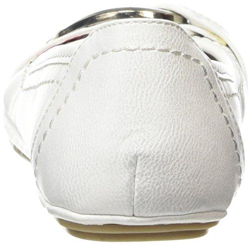 Marco Tozzi - 22130, Ballerine Donna Bianco (bianco (White 100))