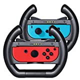 KingTop Nintendo Switch Joy Con Lenkrad 1 Paar Racing Wheel Mario Kart 8 Deluxe Lenkrad für Nintendo Switch Joy-Con Controller