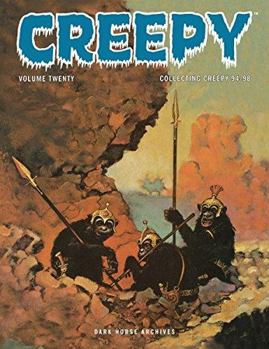 Creepy Archives Volume 20 (Math 1 Halloween Grade)