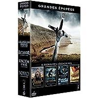 Grandes épopées - Coffret - Valhalla rising + Outlander + Kingdom of War + Nomad