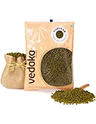 Vedaka Popular Green Moong Whole / Sabut, 500g