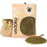 Vedaka Popular Green Moong Whole / Sabut, 500g