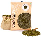 #10: Amazon Brand - Vedaka Popular Green Moong Whole/Sabut, 500g