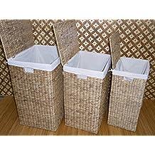 Suchergebnis auf Amazon.de für: wäschetruhe bambus | {Badhocker mit wäschetruhe 47}