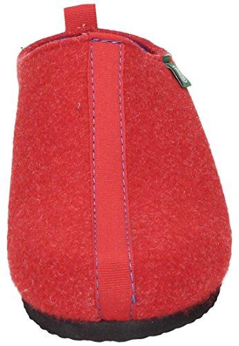 Dr.Brinkmann 330148-4 femmes chaussons Rouge