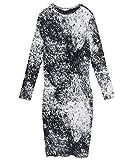 ZARA Damen Batik-Kleid 5039/164 (Large)