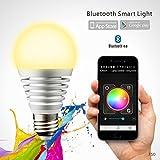 NOVAGO Ampoule d'ambiance LED Bluetooth 4.0 -...