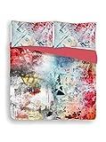 Ki-osa by MATTEO BOSIO Parure Copripiumino Multicolore 4 matrimoniale 250 x 200 cm