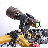 Nuevo Multifunción 360 de Rotación Soporte de Luz LED Frontal para Bicicleta Sostenedor de Linterna Flash Noche