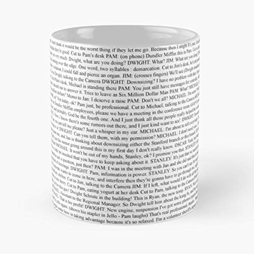 Office Us Jim Pam - Best Gift Mugs Michael Dwight Tv Programme Pad Funny Comedy Mug Coffee For Gifts Cup Women Tumbler Best Personalized Gifts