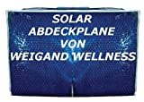 MYPOOL Solarabdeckplane »Basic« für Rundbecken und Quick-Up-Pools (in 6 Größen) Ø 250 cm, 2,5 m