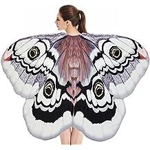 Alas de Mariposa Volando Hada Accesorio Traje Duendecillo Señoras Niño Niña Capas Alas de Mariposa Duendecito
