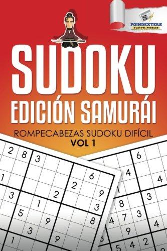 Sudoku Edición Samurái: Rompecabezas Sudoku Difícil Vol 1