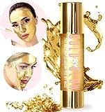 Oro 24 K pulizia profonda Peel Off Face Mask acido ialuronico vitamina C e dolcetti punti neri e acne, rigenerante trattamento viso 50 ml | GOLD BY GLOW