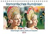 Romantisches Rumänien (Tischkalender 2019 DIN A5 quer): Rumänien: Siebenbürgen, Donau-Delta und Karpaten (Monatskalender, 14 Seiten ) (CALVENDO Orte) -