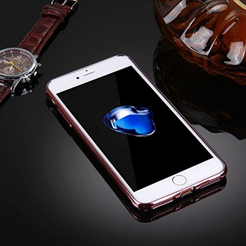Hülle für iPhone 7 plus , Schutzhülle Für iPhone 7 Plus Blumen Muster Galvanisieren Soft TPU Schutzhülle Fall ,hülle für iPhone 7 plus , case for iphone 7 plus ( SKU : Ip7p5910d ) Ip7p5910d