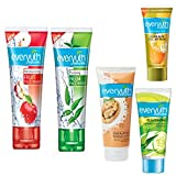 Everyuth Naturals Face Wash and Scrub (Combo Pack)