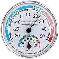 Kalttoy - Termómetro analógico para el hogar, medidor de temperatura y humedad