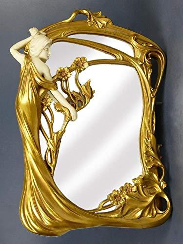 Märchenhafter Spiegel Jugendstil Dame Kosmetikspiegel AN10019AA Palazzo Exklusiv