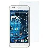 atFolix Schutzfolie kompatibel mit HTC Desire 10 Lifestyle Panzerfolie, ultraklare & stoßdämpfende FX Folie (3X)
