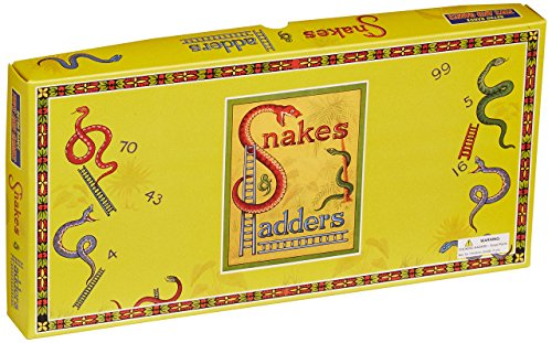 House Of Marbles Snakes & Ladders; traditionelles Retro-Game - Ladders Snakes