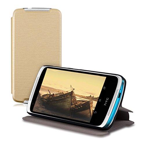 kwmobile HTC Desire 526G Hülle - Flip Handy Schutzhülle - Cover Case Handyhülle für HTC Desire 526G