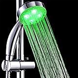 Cabezal de Ducha LED Alcachofa de Ducha Temperatura de Controladas Cambio de Color