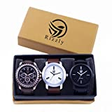 #8: Watches for Boys/Watches for Mens/Watch for Boy/Watch for Men Stylish/Watch for Kids Boys Analogue White Dial Offers (05-20-21)